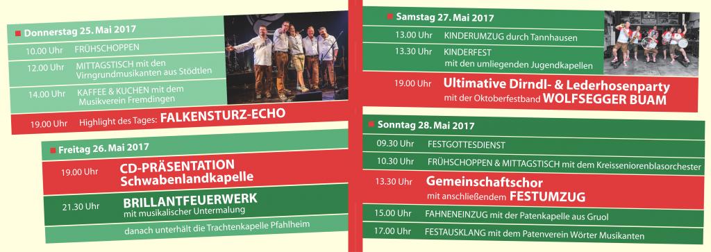 Programm Kreismusikfest