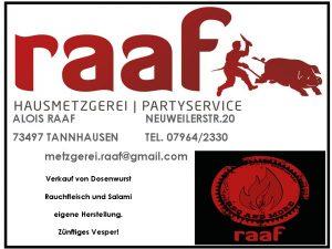 Hausmetzgerei und Partyservice Raaf